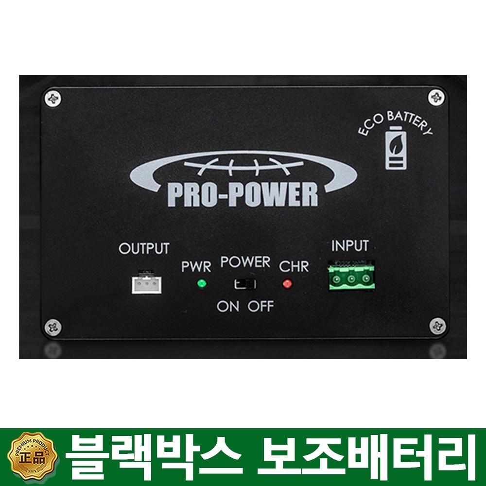 프로파워s1 블랙박스보조배터리시공, 프로파워s1+가정용 어댑터