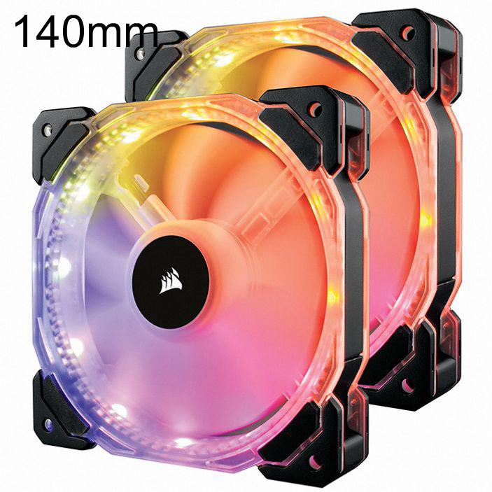 시스템쿨러 공랭 140mm HD140 RGB 2Pack+Controller