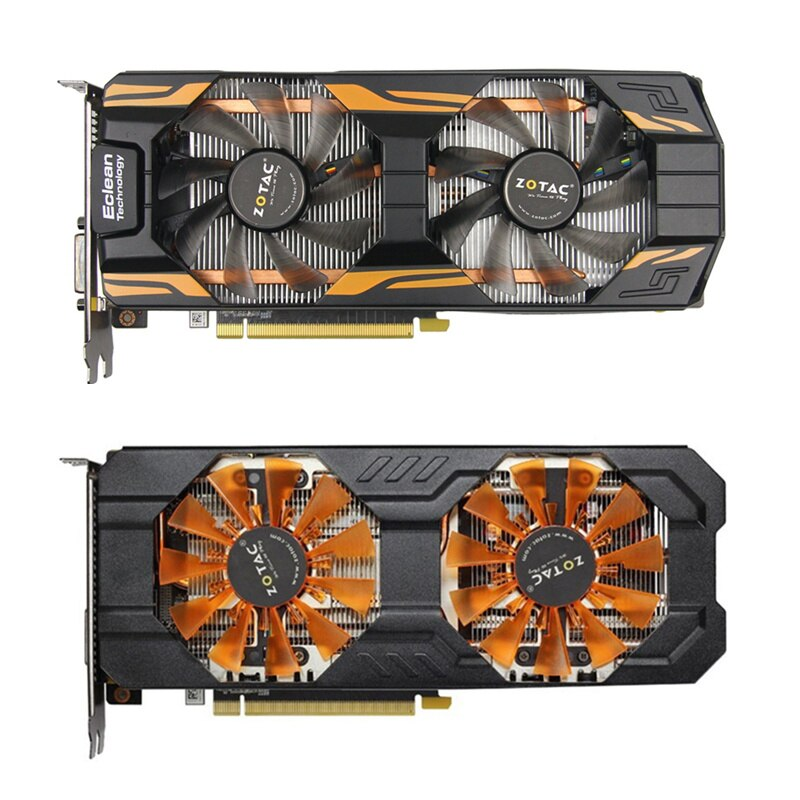 ZOTAC GTX 760 2GB Graphics Cards GeFor Refurbished, One Color One Size