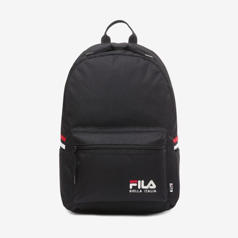 [폴더] FILA CORE 스몰로고 코트 백팩 (블랙) 신학기 학생 가방, BLK(블랙)