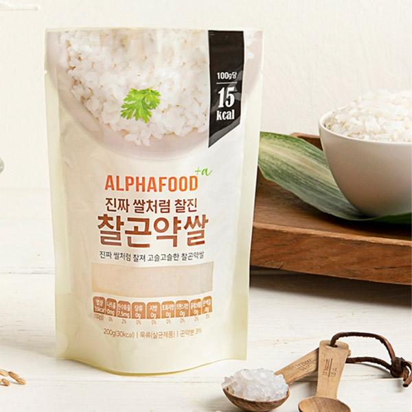 기타 찰 곤약쌀 200g x 10봉 (한봉30kcal)