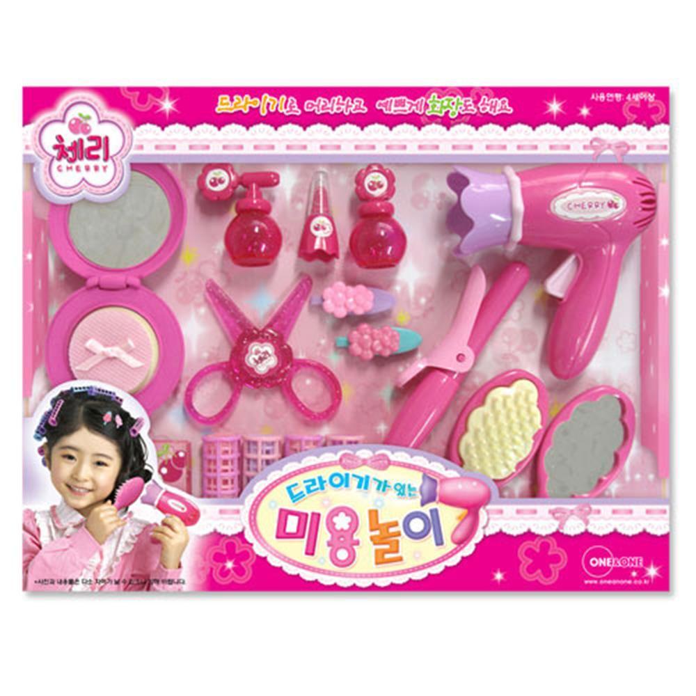 5살여아선물 미용실놀이 헤어드레서 역할교구 3살선물