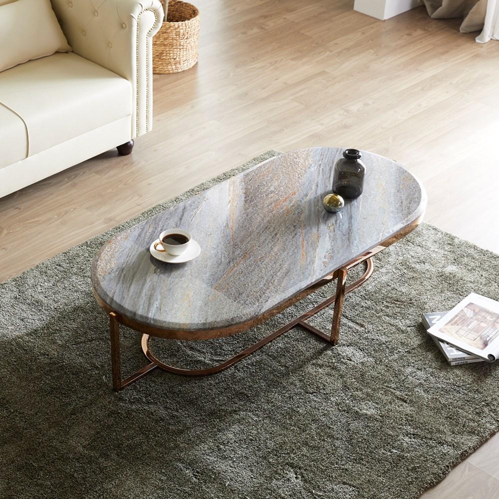 코지앤가구 대리석테이블 018 거실 마블 좌식 탁자 쇼파 소파 테이블, 018 그레이