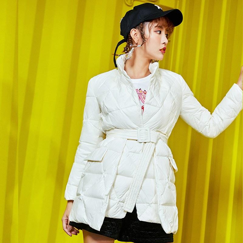 숏패딩 구스 역시즌 세일다운 재킷 여성 겨울 짧고 얇고 패딩 점퍼 코트