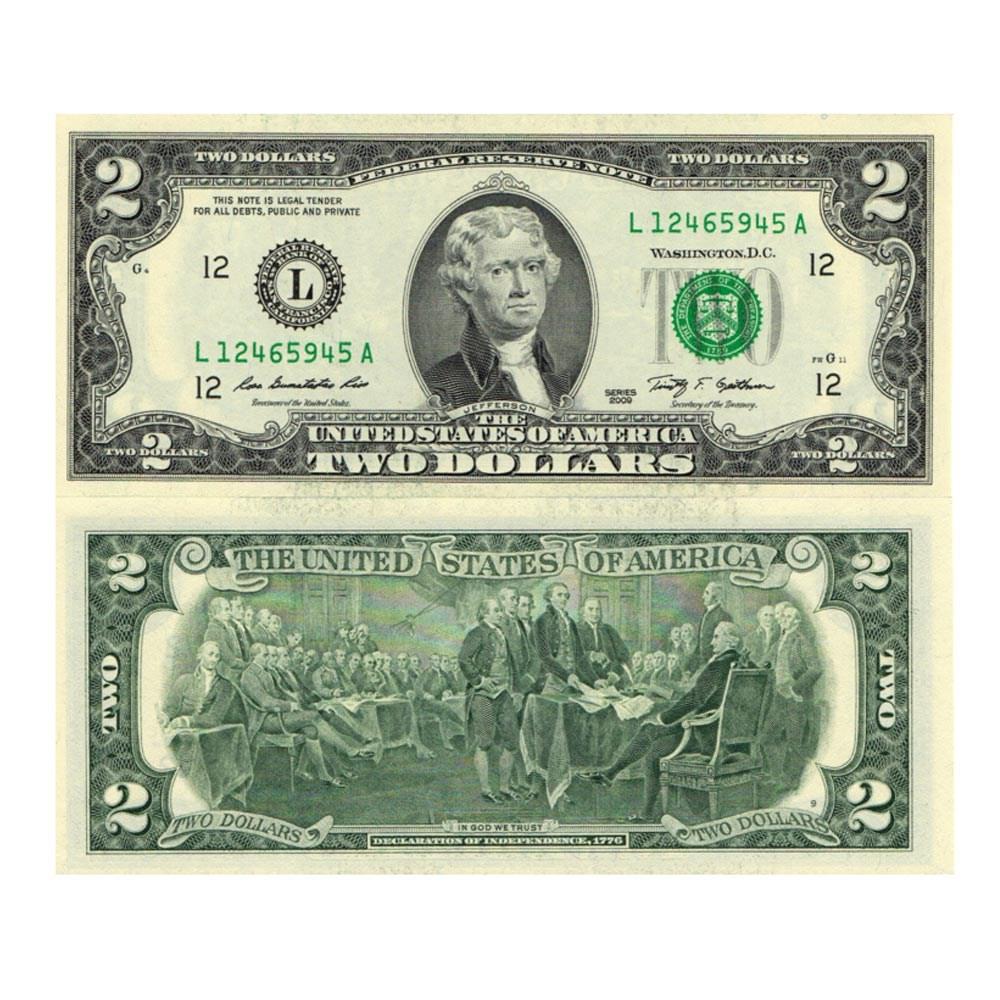인터바겐 행운의 2달러 지폐 화폐 유리 액자 케이스 선물 액자세트, 행운의2달러 (2달러지폐)