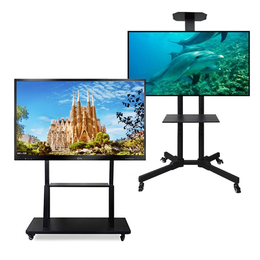이동식TV스탠드 32인치 75인치 LG 삼성 TV받침대 설치동영상제공, 이동식TV스탠드 일반형