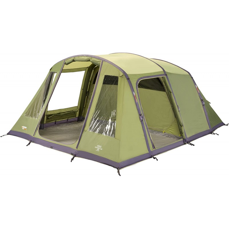 뱅고 오디세이 인플랫블 패밀리 터널 텐트 엡섬 그린 에어빔 600, 단일옵션, 단일옵션
