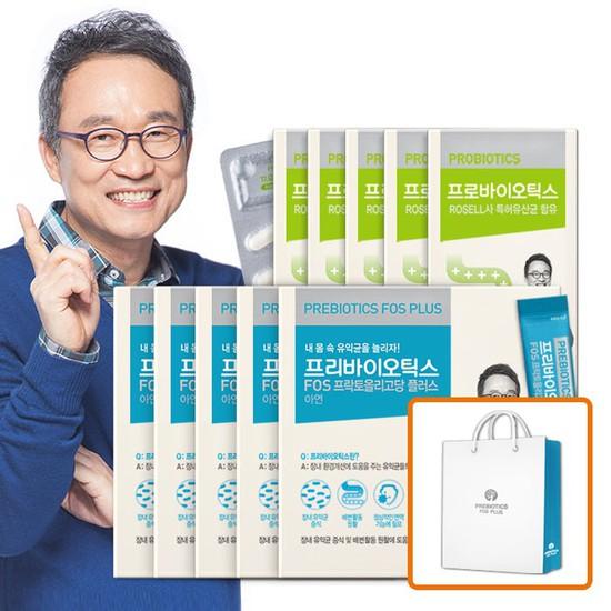 오한진 프리바이오틱스 5개월 + 프로바이오틱스 5개월, 상세설명 참조, 없음