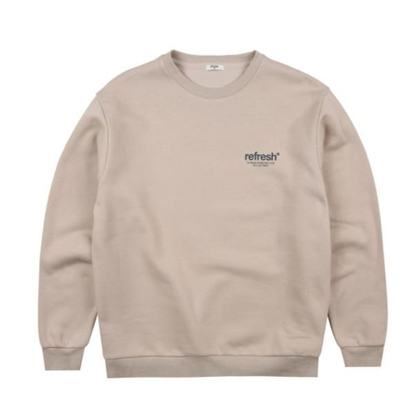 폴햄 폴햄 남여공용 그래픽 기모 맨투맨 티셔츠 PHA4TR3010