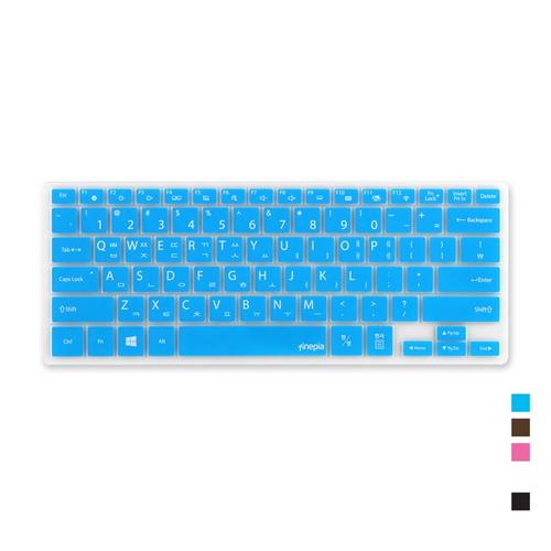 [바보사랑]삼성 노트북9 metal NT900K3A-K38L용 문자인쇄키스킨SS25, 초코, 1