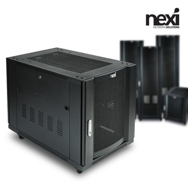 넥시 서버랙 H750 블랙15U H750xW600xD1000 wj678 케이지너트타입, 1, 본 상품 선택