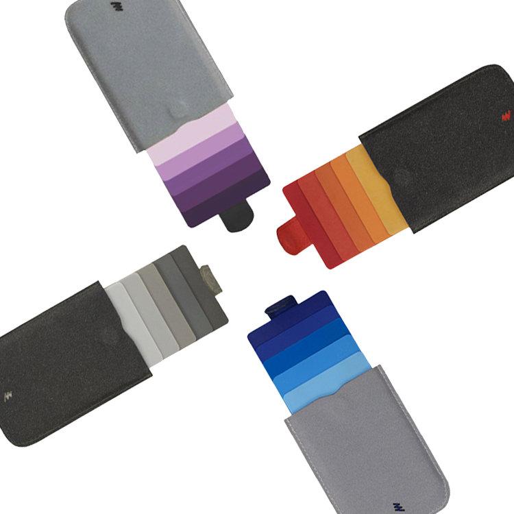 DAX v2 슬라이드 카드 명함 홀더 지갑