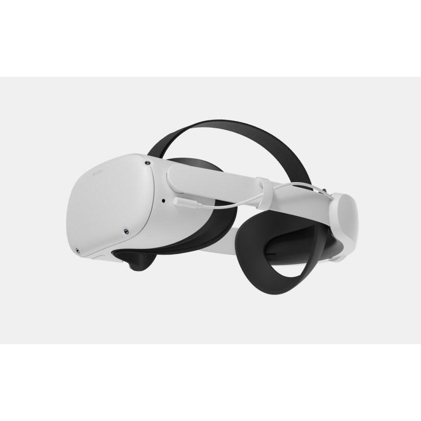 오큘러스 퀘스트2 Oculus Quest 2 정품 악세사리  배터리가 있는 엘리트 스트랩+휴대용 케이스 추가금 없음