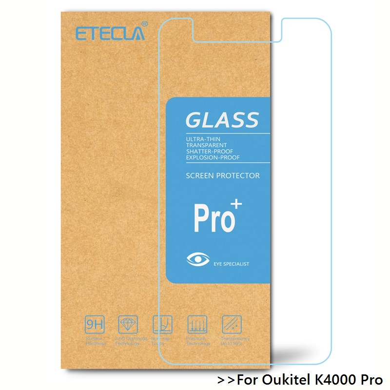 Oukitel k4000 프로 강화 유리 oukitel k4000 프로 유리 oukitel k4000pro 화면 보호기 0.26mm hd 투명 유리 필름, 1개, 단일
