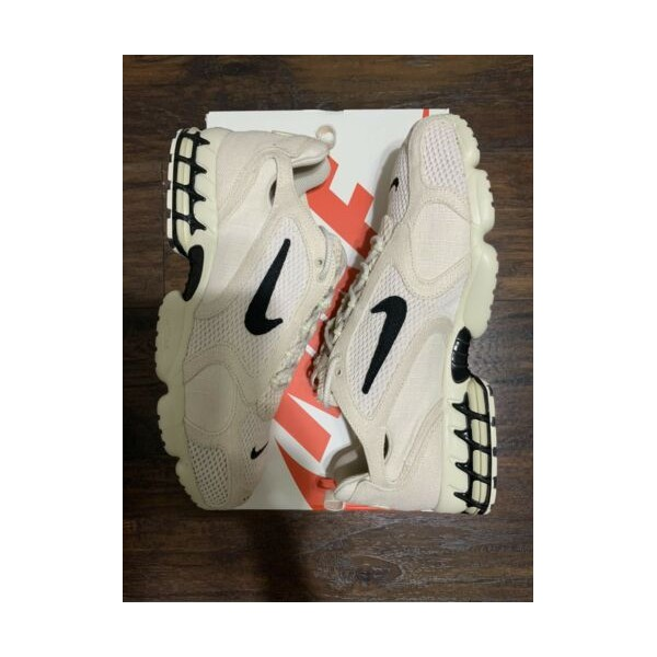 Nike x Stussy Air Zoom Spiridon Cage 2 - Fossil - US 15 Men - 100% 정품