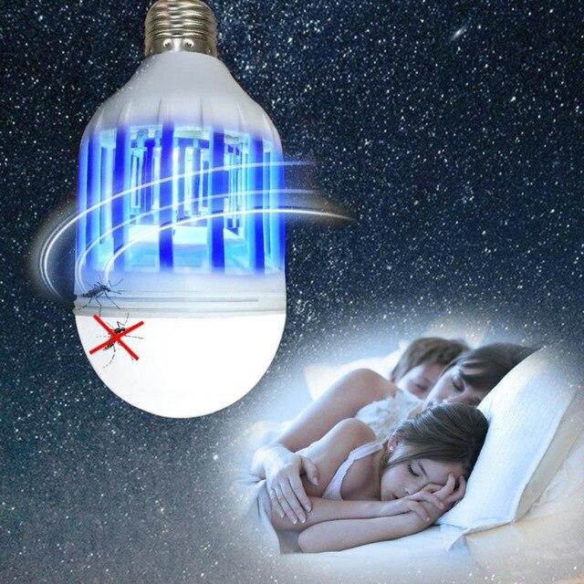 CHICLITS E27 전기 모기 킬러 램프 220 V 110 V 15 W 2 1 트랩 빛 곤충 킬러 램프, 110V^+50