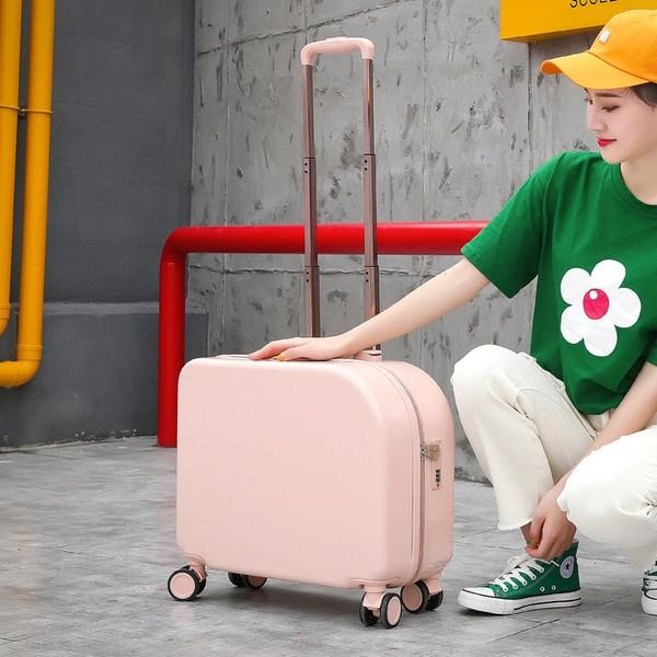 롱라움 18인치 캐리어 보조가방 미니 화장품 여행 가방 메이크업박스