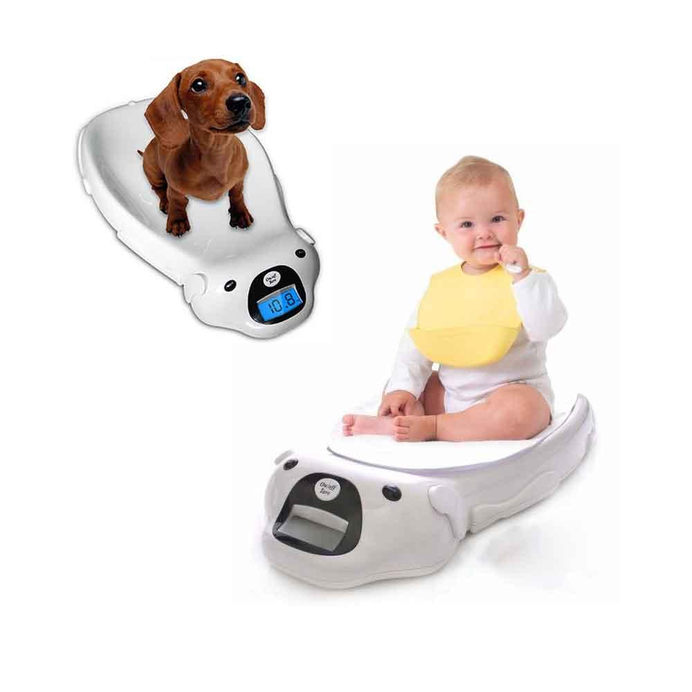 신생아 아기 반려동물 강아지 초경량 저울 체중계