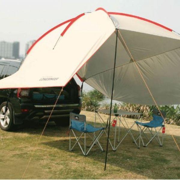 롱싱어 SUV 차박 타프 차박 도킹 텐트, 8, 그린