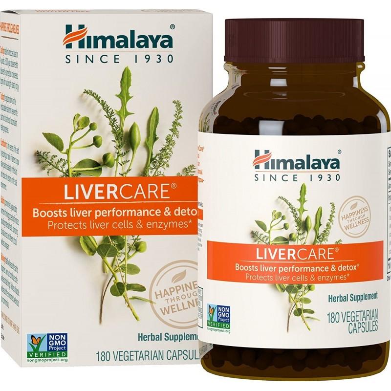 히말라야 LiverCare / Liv.52 히말라야의 Liver Detox 375mg 채식 캡슐 180 개, 1