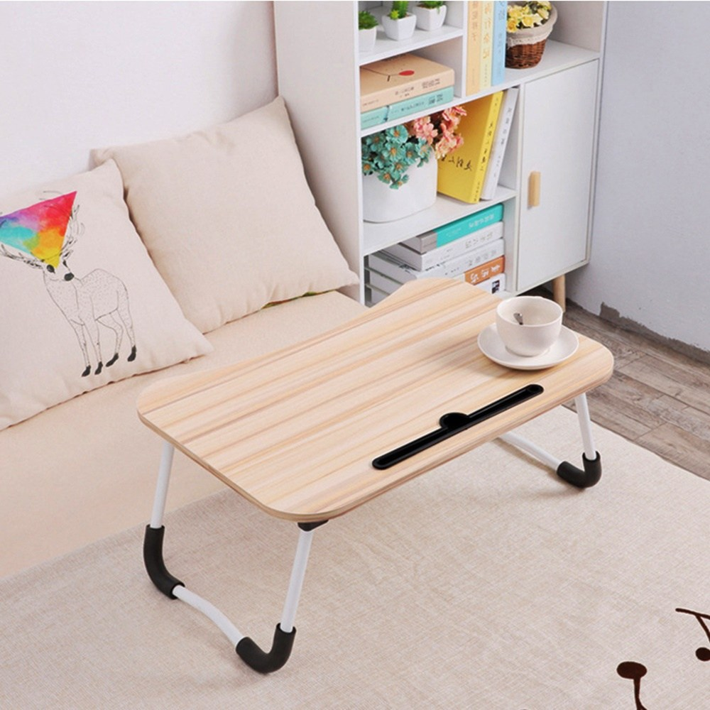 퀸즈 접이식 미니 베드 테이블 다이소 침대 책상 코스트코 배드 침대상 자취생밥상 자취필수품 접이식테이블, 베이지