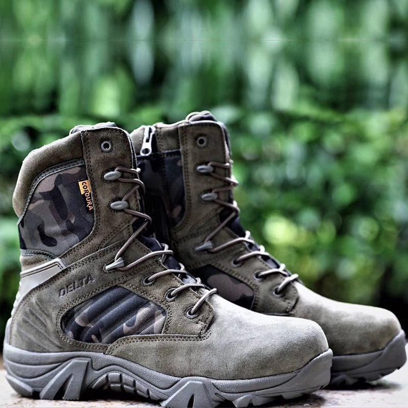 전술화워커 군화 사막화 경량 통기성좋고 발이편한 전투화