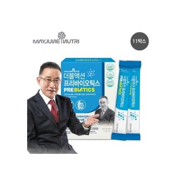 [메이준뉴트리] [11개월분]● 더블액션 프리바이오틱스 유산균(5g*30포*11박스), 11박스
