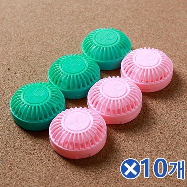 WMX298687서랍장용 원형 방충제 6px10개 옷장곰팡이제거 옷방, 1
