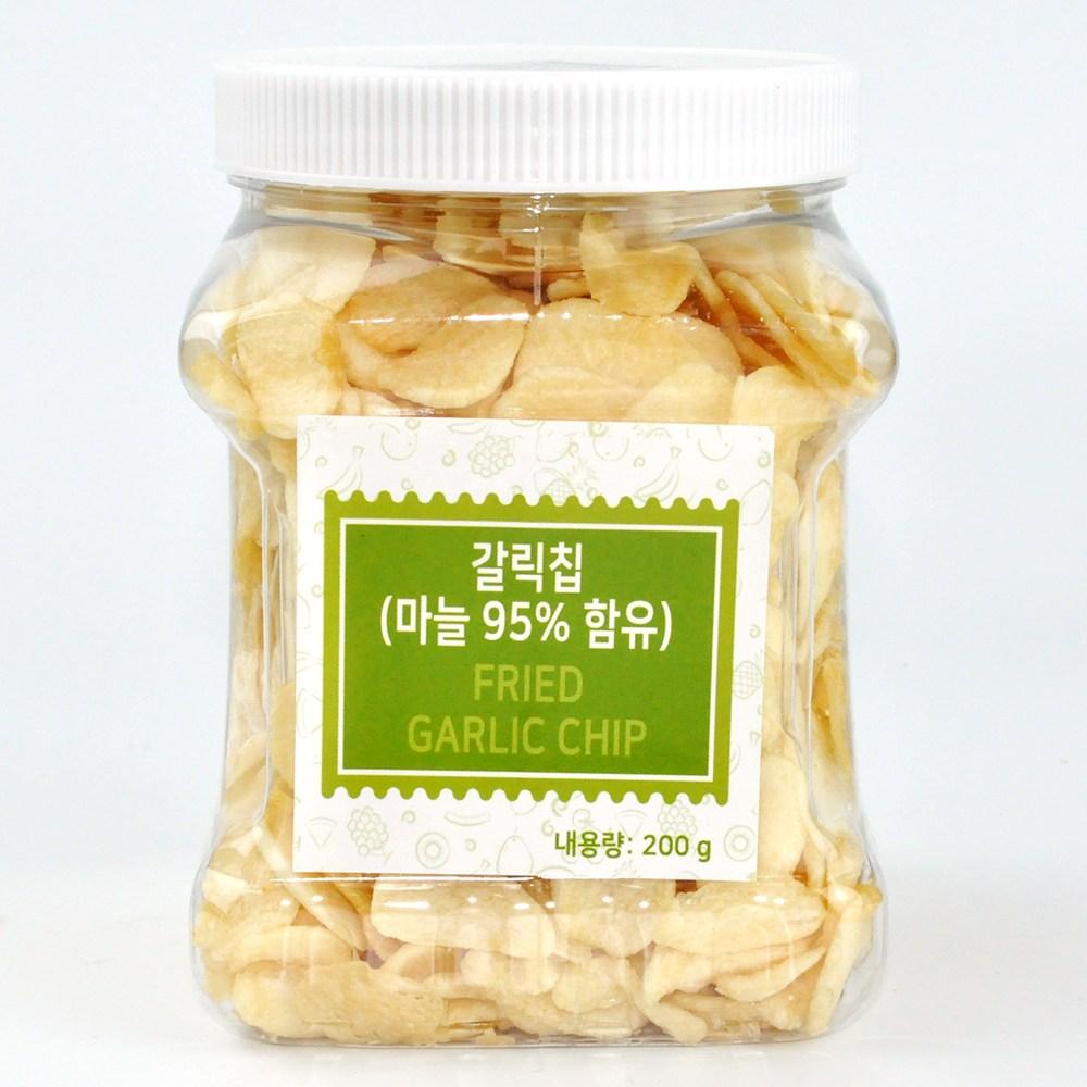 맛있게 튀긴 갈릭칩 200g / 갈릭후레이크 / 마늘튀김/ 갈릭치킨, 200g 1통