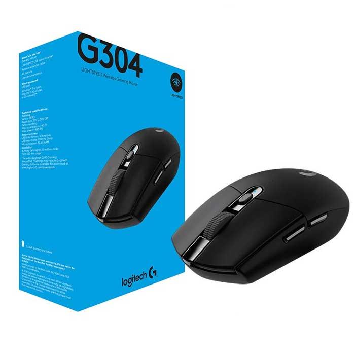 로지텍G G304 게이밍 무선마우스 화이트 (정품박스 2년AS 안전포장) 무선 마우스, 블랙, 로지텍 G304 정품박스