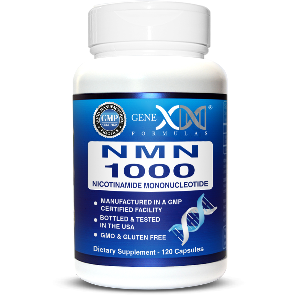 Genex Formulas 제넥스포뮬러 NMN 니코틴아미드 모노뉴클레오티드 1000mg NAD+ 120정, 1병