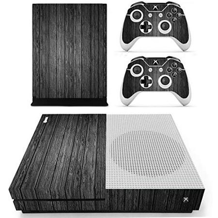Xbox One S 슬림 스킨 스티커 Vinly 데칼 데코레이션 장식 커버 for Xbox One 슬림 블랙 우드 by 스킨own, 상세 설명 참조0, 상세 설명 참조0