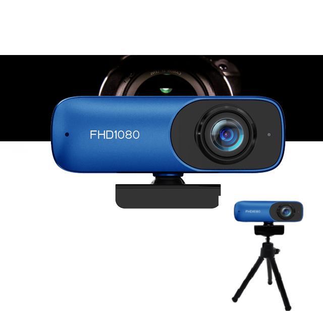 프리에이티브 하이엔드급 고해상도 FHD 웹캠 방송용 수업용 회의용 최고성능 삼각대 증정 원격 기술지원