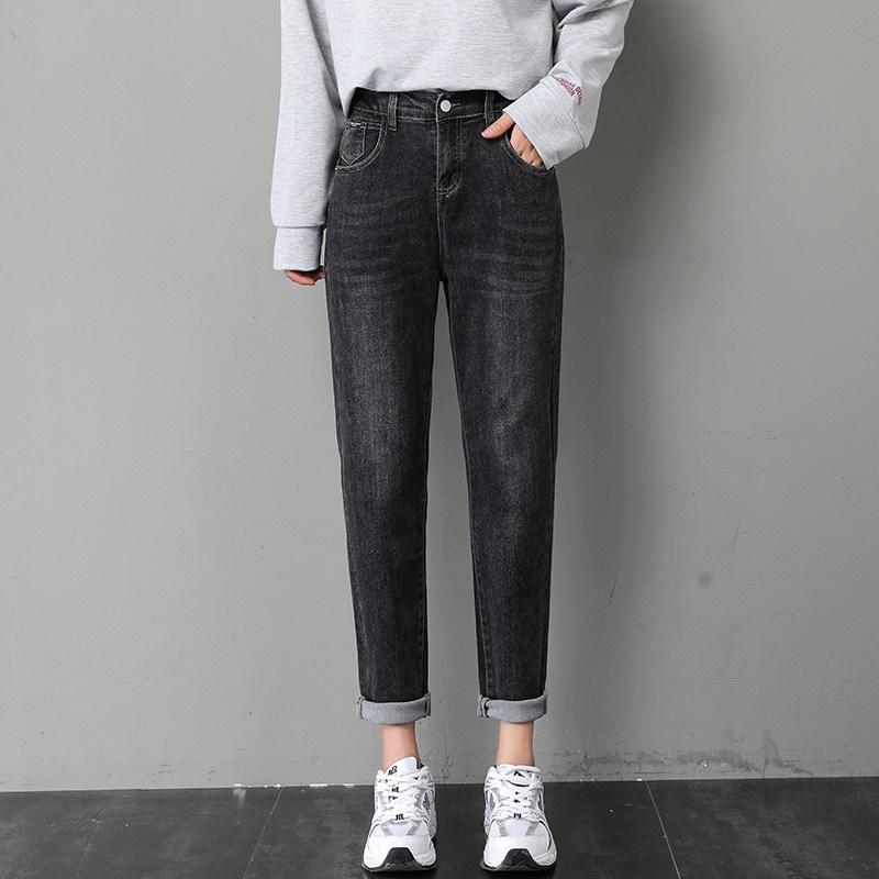 나래쇼핑몰 카고 청바지 블랙 여성 스트레이트핏 일자 와이드 루즈핏 여자 바지 가을옷 슬림핏 무배기관 배기 팬츠