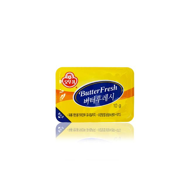 오뚜기 버터후레시 10g, 100개