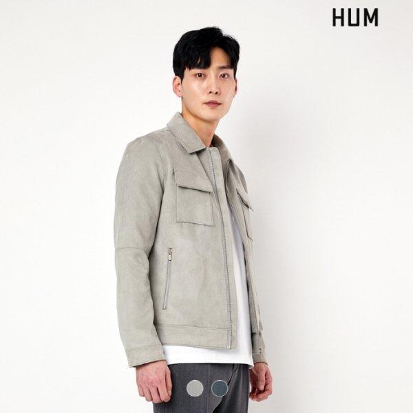 흄(HUM) [NC충장] HUM 남성) 스웨이드 집엎 트러커 NC