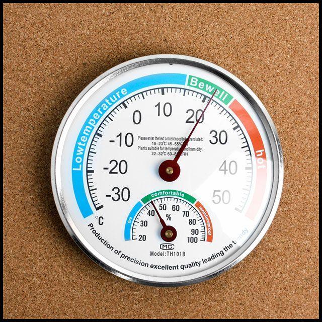 MS 원형 아날로그 원형온습도게 온도계 겸용 습도계 온습도게 온습도계, OWTD 1