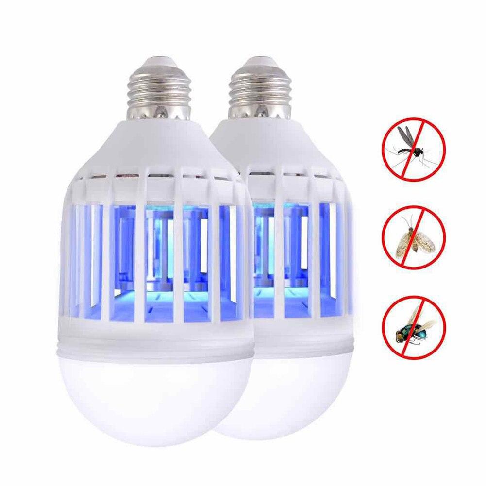 LED 전기 곤충 모기 킬러 플라이 곤충 버그 트랩 램프 전구, 110V^