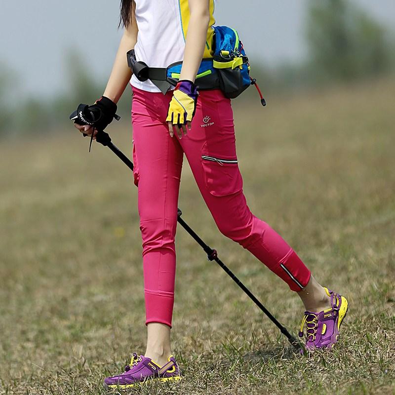 여자등산 레깅스 바지 봄 여름 등산복 103881 야외 여성 바지 통기성 빠른 건조