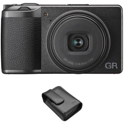 Ricoh Ricoh GR III Digital Camera with GC-9 Soft Case Kit, 상세내용참조
