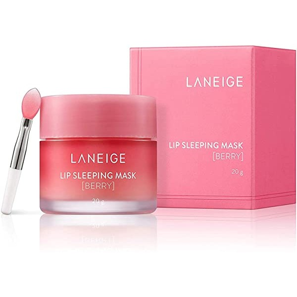 [Laneige] 2019 Renewal - Lip Sleeping Mask Berry 0.7 Ounce / 20 g, One Color_One Size, 상세 설명 참조0