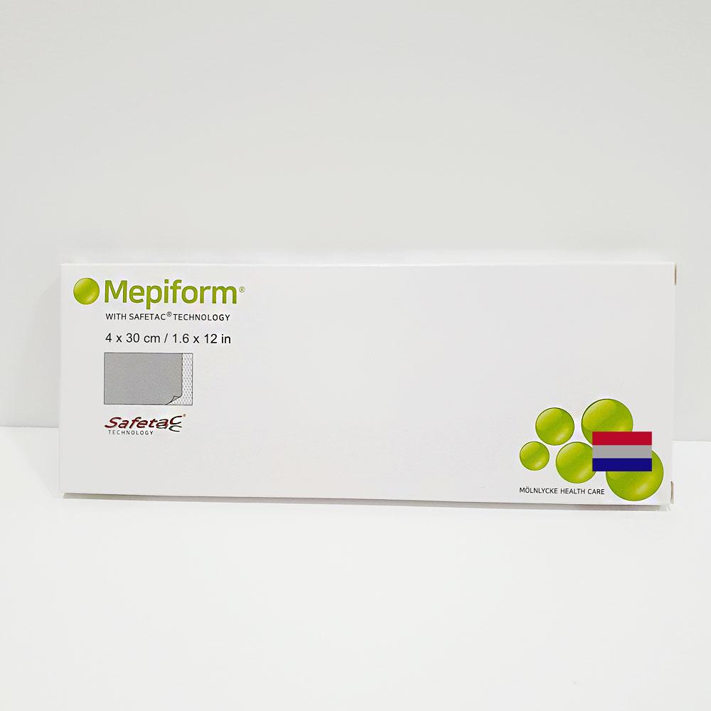 메피폼 4cm x 30cm (중) 흉터밴드 상처 관리 흉터개선 Mepiform 정품 -1매 (POP 5226898335)