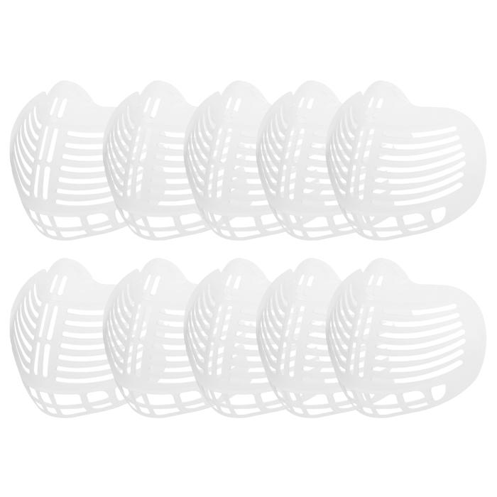 숨쉬기 편한 마스크 가드 지지대 10개입 (국내발송) 아동용 성인용, 소프트타입 마스크가드(대형)