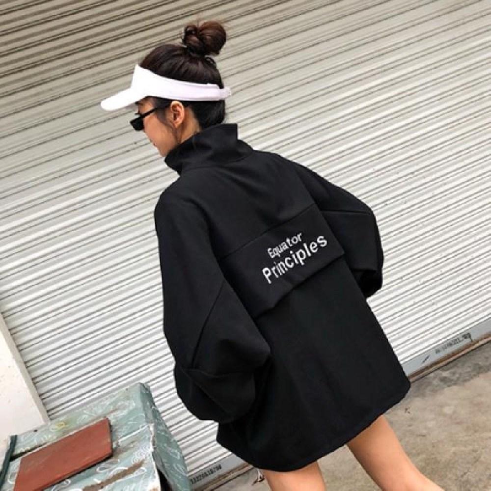 [AOU_2156126] (색상 : 블랙) UP 티셔츠 아노락 남자아노락 여자아노락 바람막이