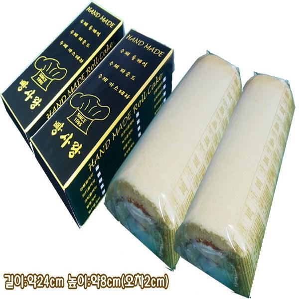 빵사랑 크림롤선물포장(2개), 1개