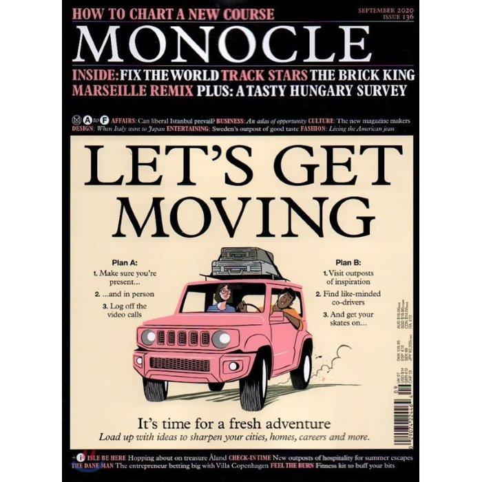 Monocle (월간) : 2020년 09월 : #136
