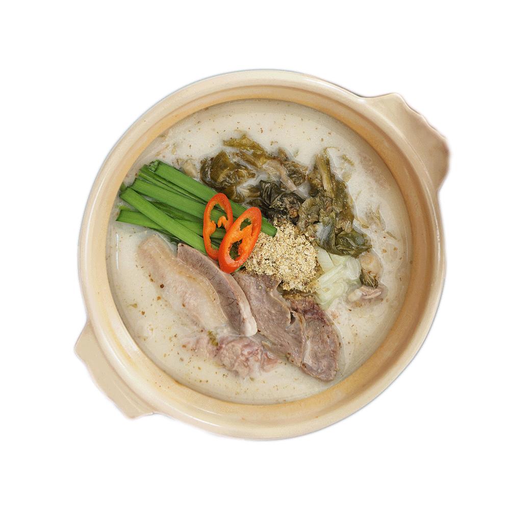 미트타임 고기 듬뿍 시래기 돼지국밥 키트 조리 후 580g, 3팩, 220g