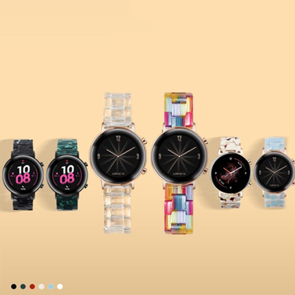 UNIQBLE 애플워치 5 4 3 2 1세대 투명 패턴 아크릴 스트랩 밴드 시계줄 38 40 42 44mm 스마트워치 악세사리, 1개, 40mm 커피 WAW1050