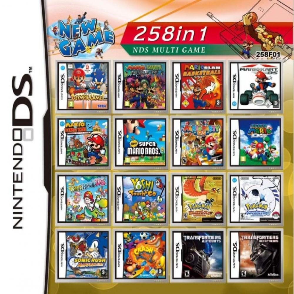 닌텐도 DS 2DS 3DS 2dsxl 3dsxl 258가지합팩14, 258합팩