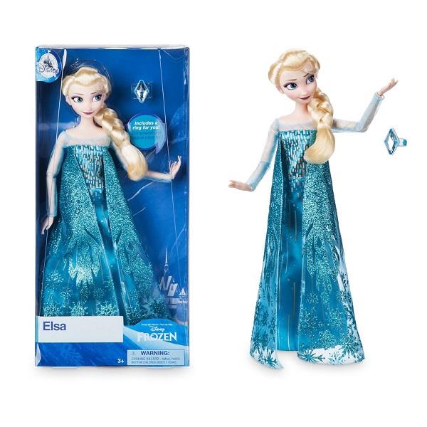 디즈니 겨울왕국 엘사 클래식돌 인형 (국내발송 정품) 마론인형